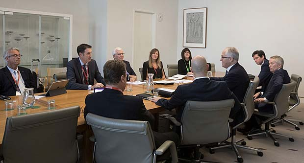 COMPPS CEOs meeting with Prime Minister